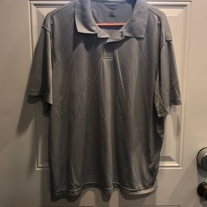 Men's Haggar Polo light gray XL